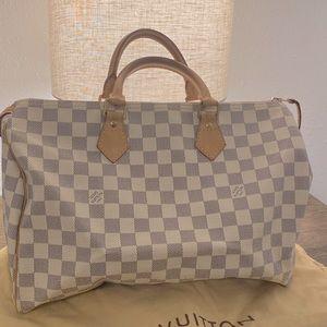 Louis Vuitton Damier Azure Speedy 35